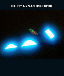 Full DIY Air Mag Light Up Kit For Custom Shoes Nike